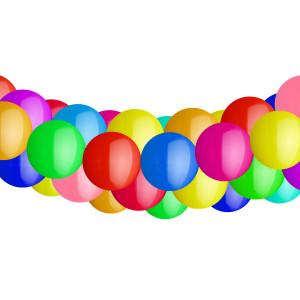 1 Ballongirlande